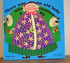 the old lady who swallowed a fly