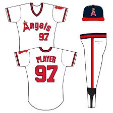 angels uniform