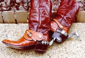 antique cowboy boots