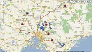 kinglake maps