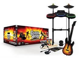 guitar hero world tour box