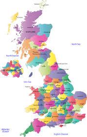 map of cities in uk