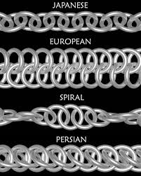 chain mail weaves