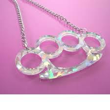 knuckleduster pendant
