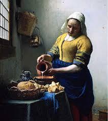 jan vermeer milkmaid