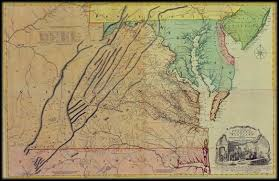 map of colonial virginia