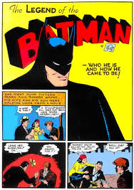 old batman comic