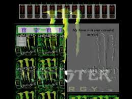 energy drink layout