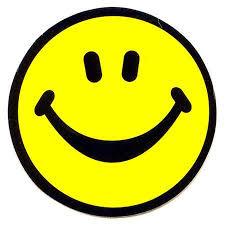happy face art