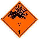 dangerous goods symbol
