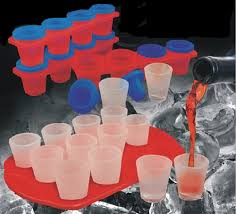 frozen shot glasses