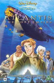 atlantis the lost empire dvd