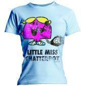 little miss chatterbox tshirt