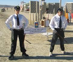 homeland security officers