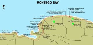 montego bay hotel map