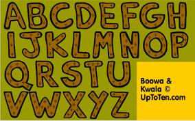 graphics alphabet