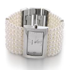 pearl bracelet watches