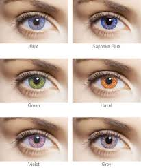 green contacts lenses