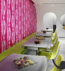 modern restaurant table