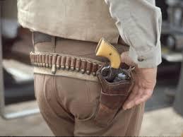 western pistol holster