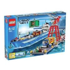 lego city cargo ship