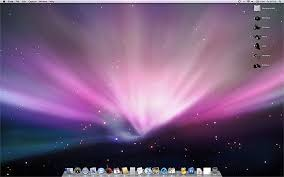apple mac desk