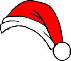 animated santa hat