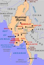 myanmar map picture