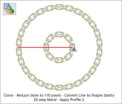 chain circle