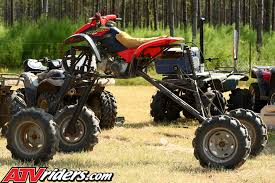 jacked up atv