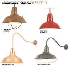 industrial light shades