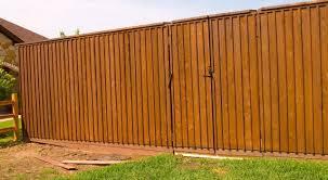 cedar fence style