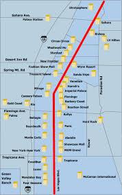 maps las vegas hotels