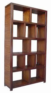 teak bookshelf