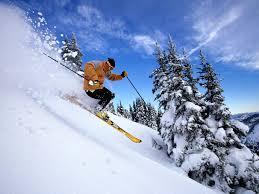 snow ski wallpaper
