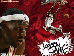 lebron james dunk pictures