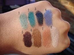 mac pigment colours