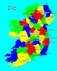 county map of ireland