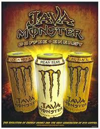 java monster energy drinks