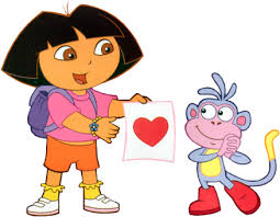 pictures of dora the explorer and boots