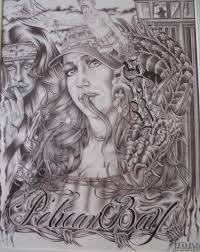 chicano prison art