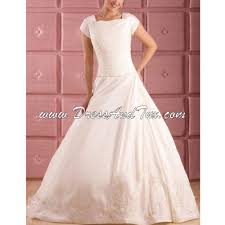 conservative wedding gowns