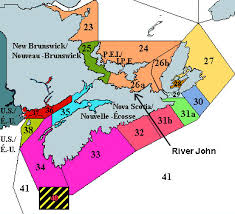 lobster fishing areas