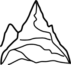 clip art of mountains