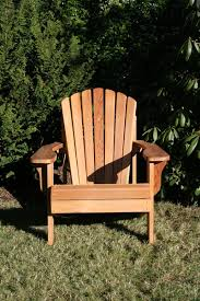 outdoor wood chair