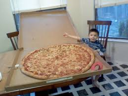 big pizzas