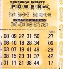 winning powerball numbers: