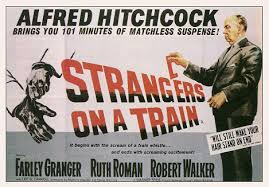 hitchcock strangers on a train