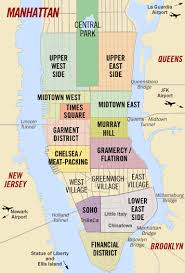 new york map neighborhoods