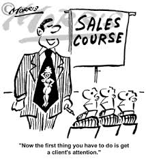 sales cartoons